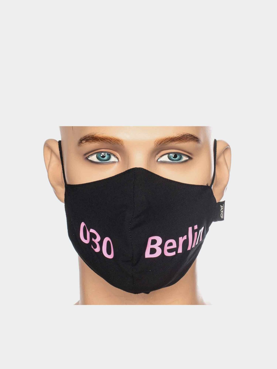 Maske ATO Berlin VS schwarz/pink-Copy