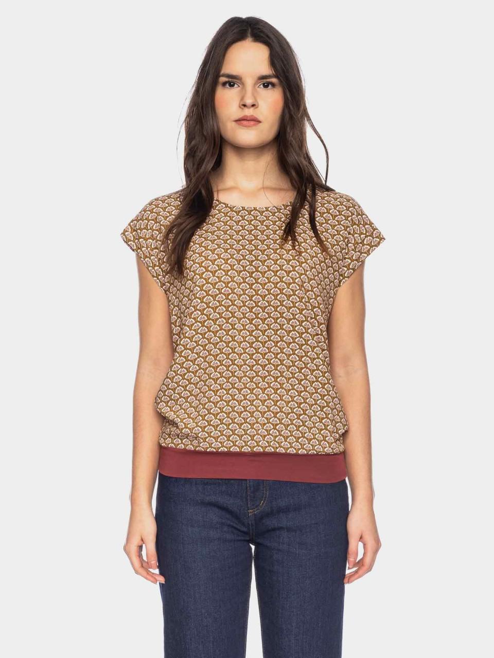 Shirt Leo CV 03/052 BRN/BG