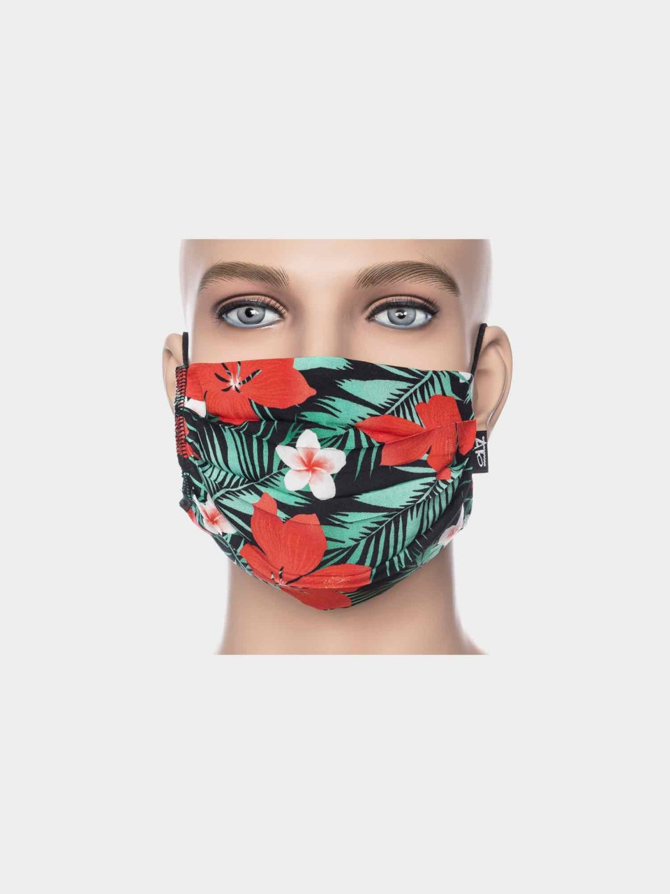 Maske ATO Jungle black/mint/rot