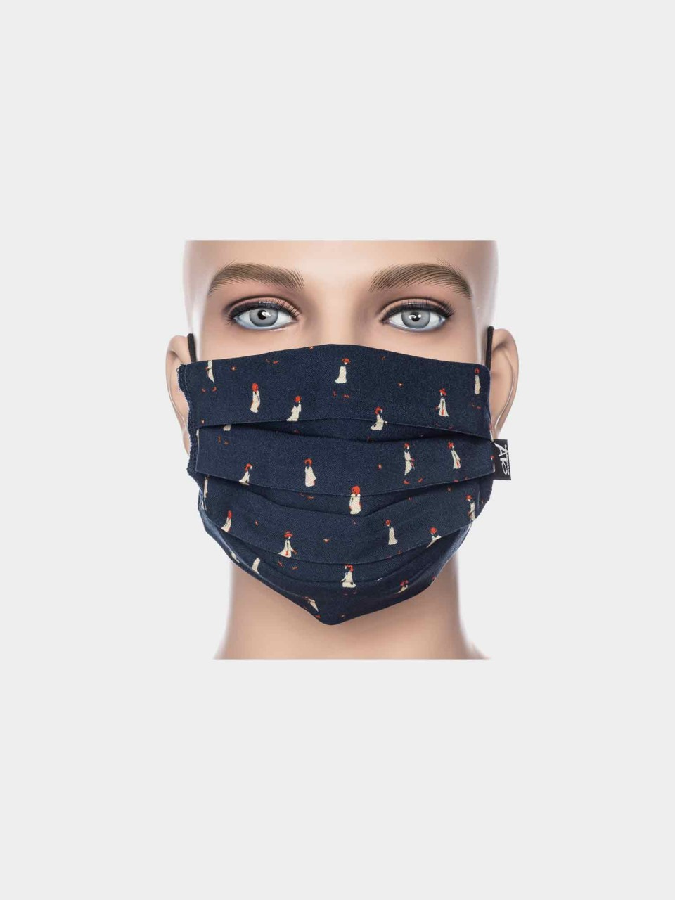 Maske ATO Dame dunkelblau