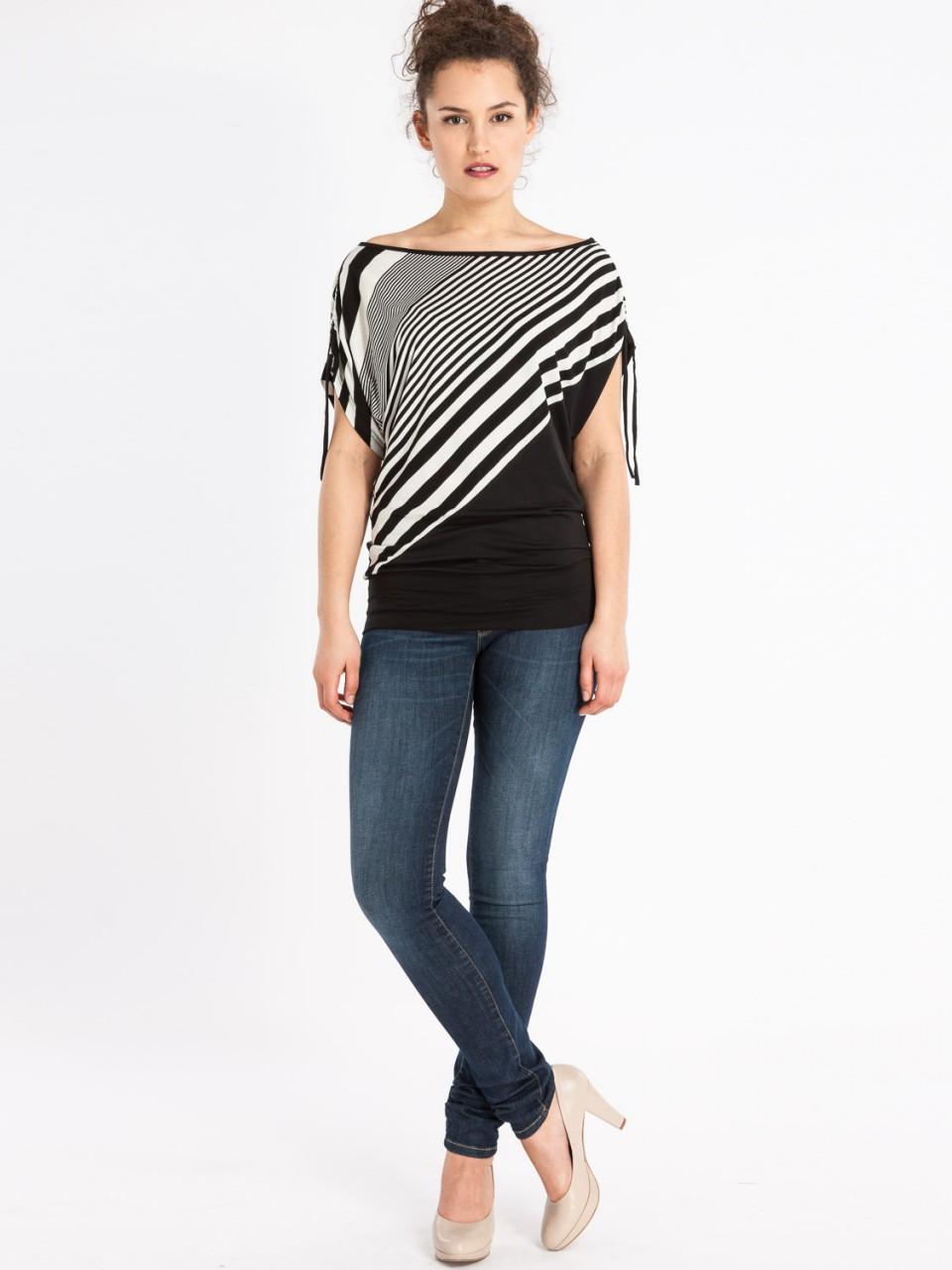 Shirt Mona S23 BLK/BG