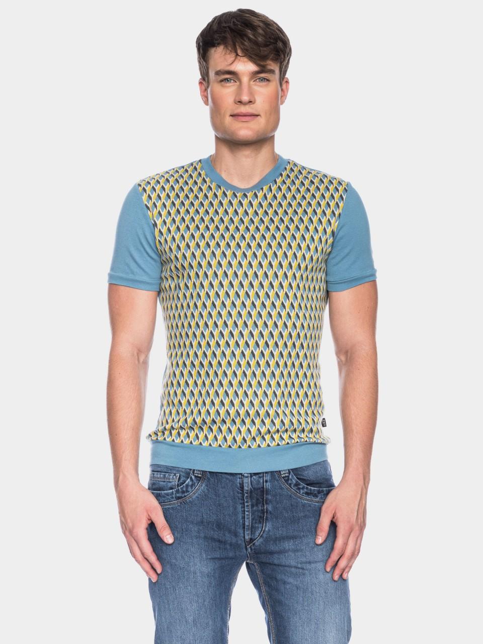 T-Shirt Birk CO 27/027 BL/YLL