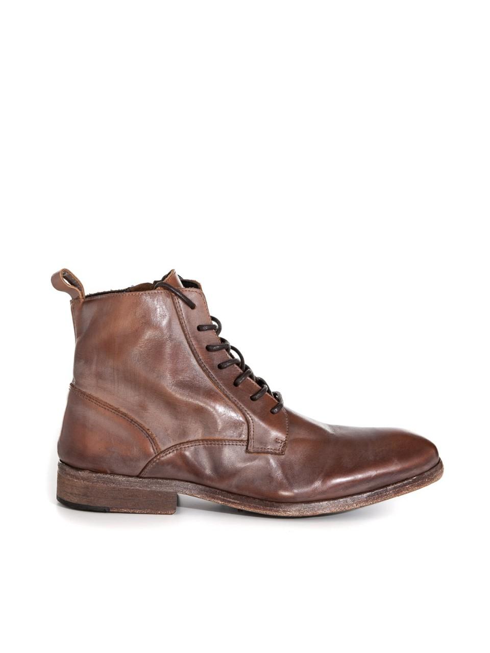 Boots Lenny BRANDY/MUD BRN