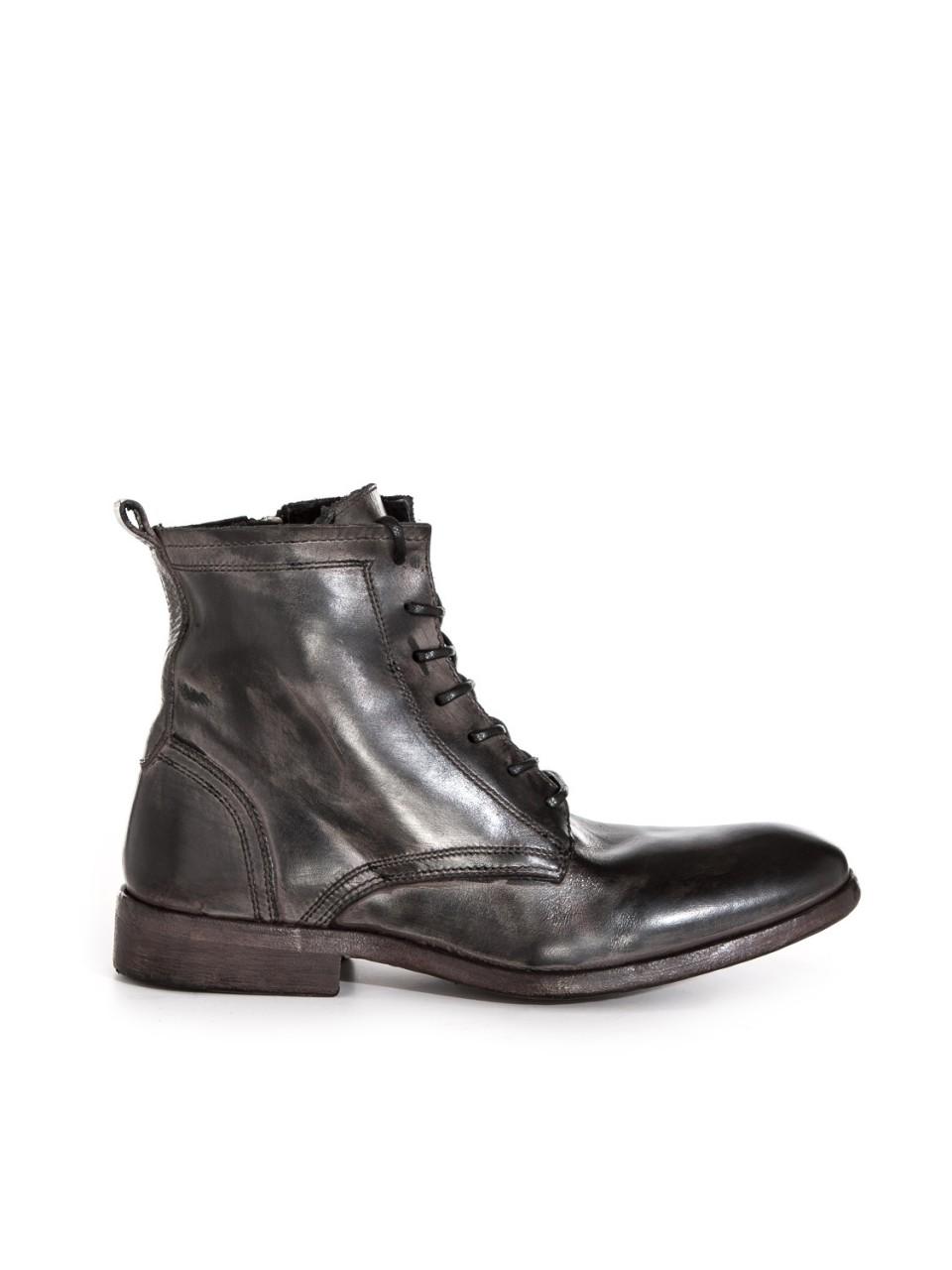 Boots James BLK WSHD/MUD BRN