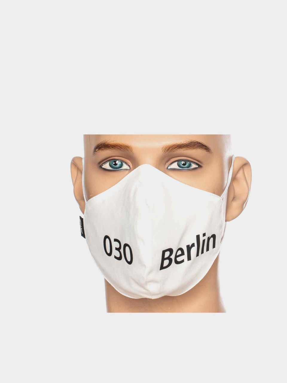Maske ATO Berlin BW weiß/schwarz