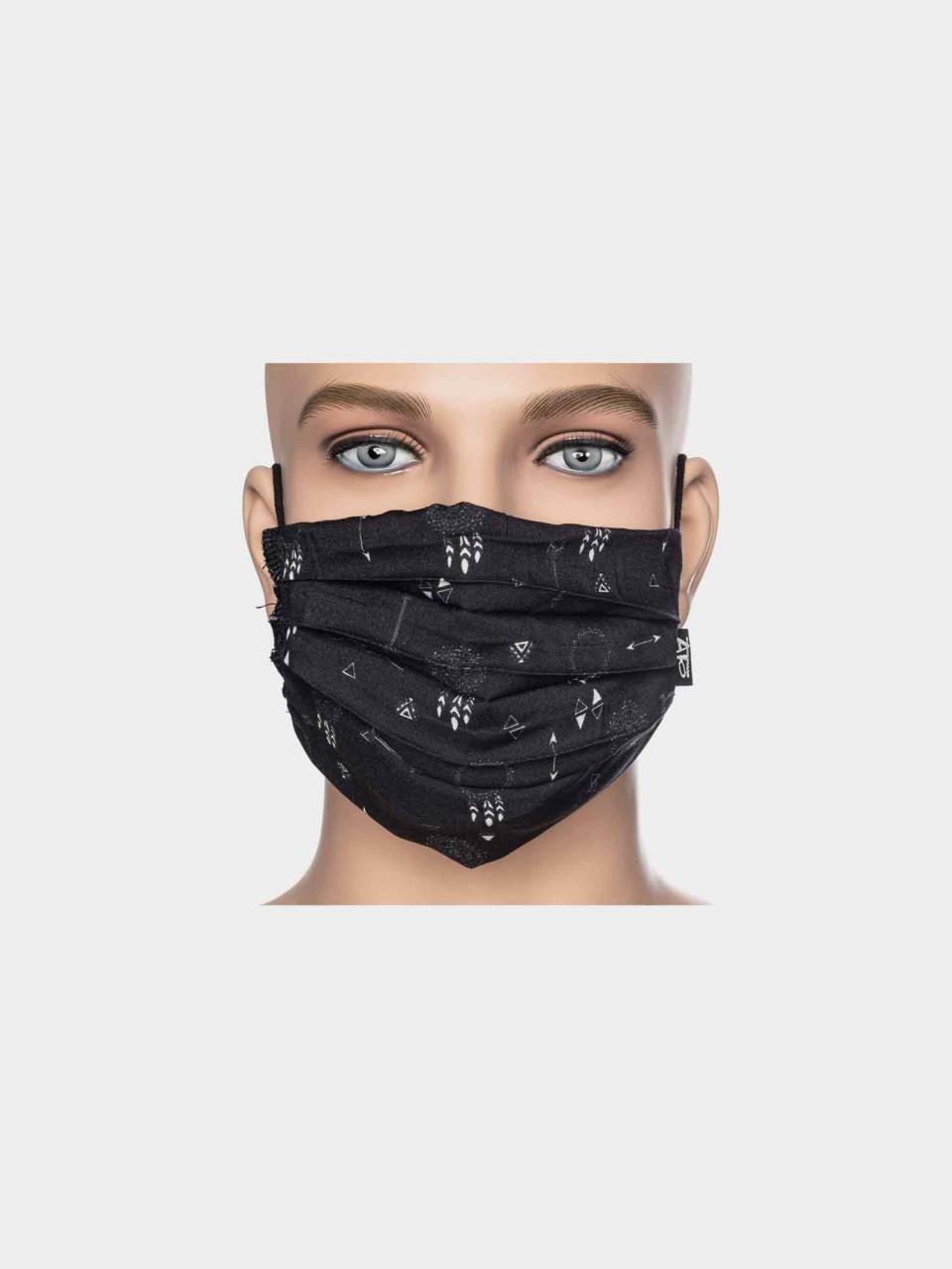Maske ATO Traumfänger BLK/WHT