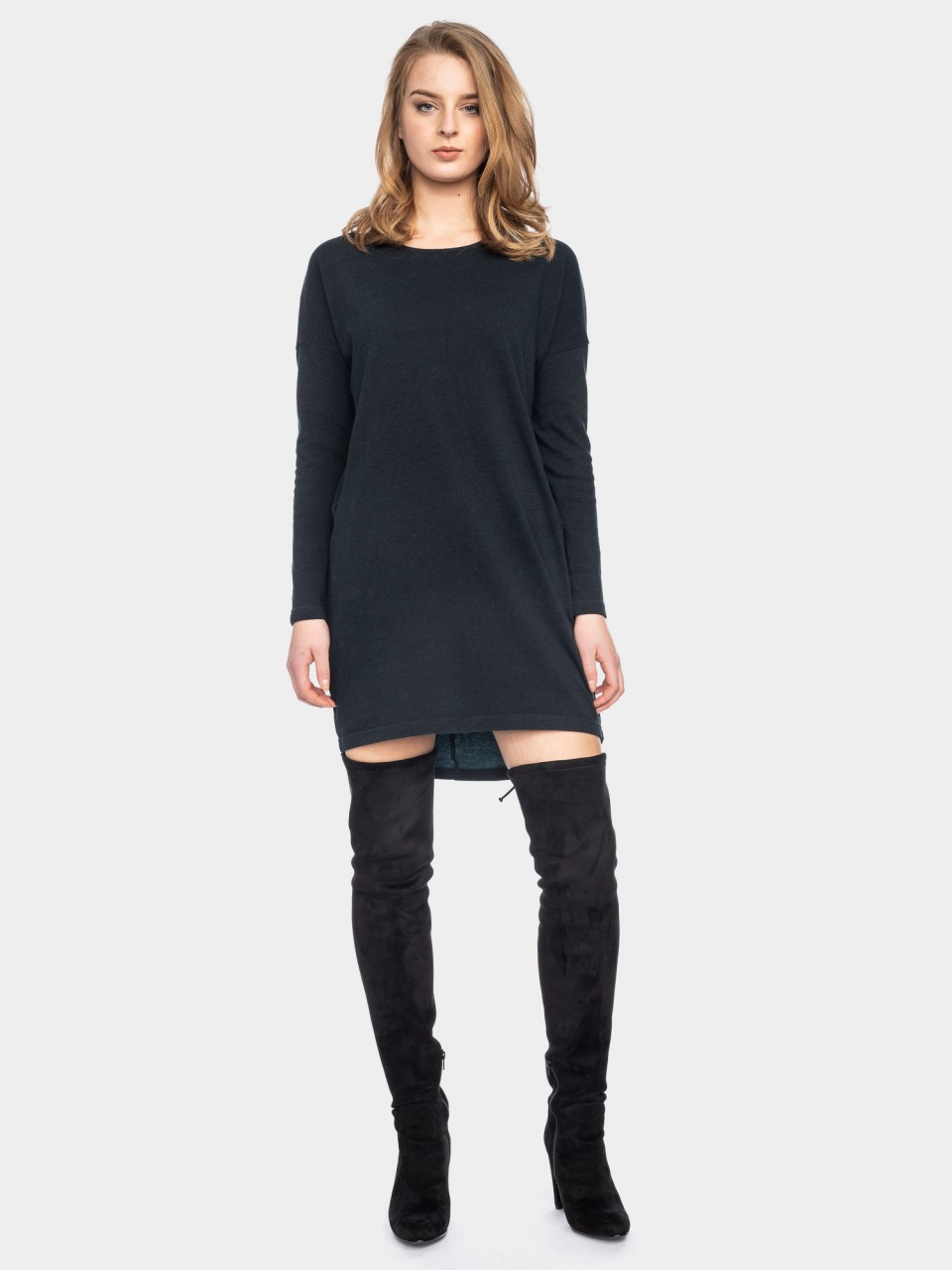 Kleid Beate CO 08/123 BLK/DPTL