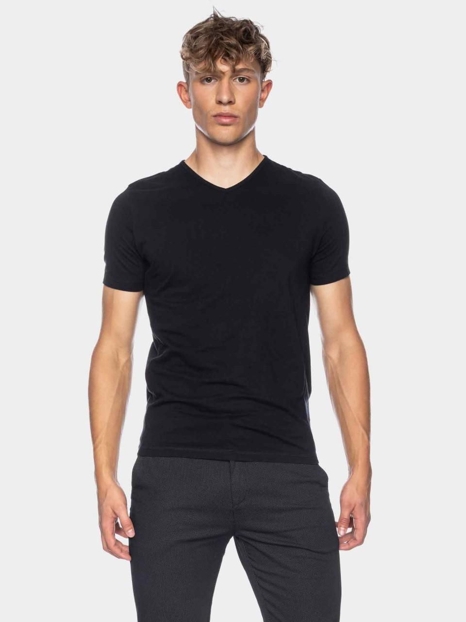 T-Shirt Valerio GOTS OC BLK
