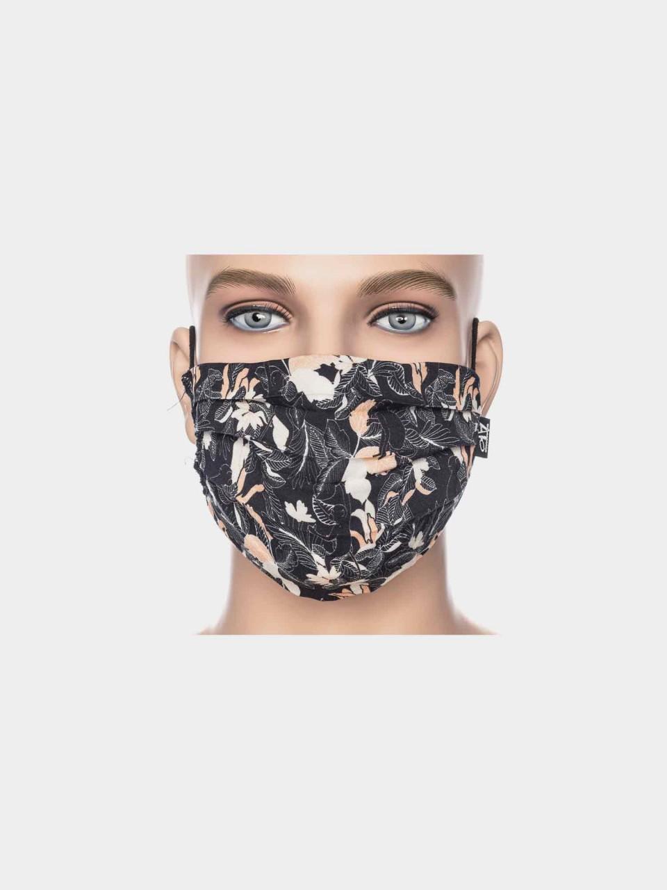Maske ATO Floral BLK/ORG