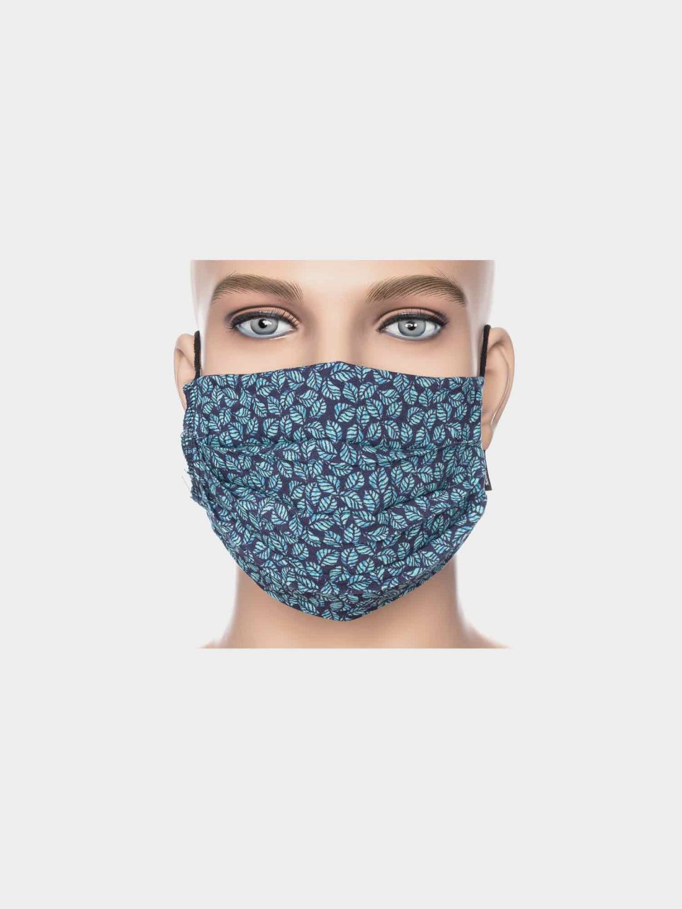 Maske ATO Blaue Blätter BL/BLK