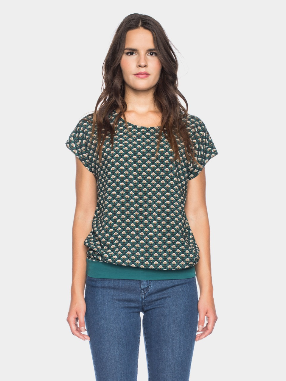 Shirt Leo CV 03/049 GRN/BL