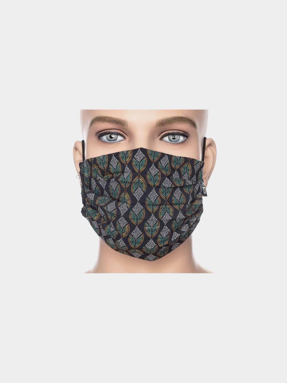 Maske ATO Kristall Blume BLK/GRN