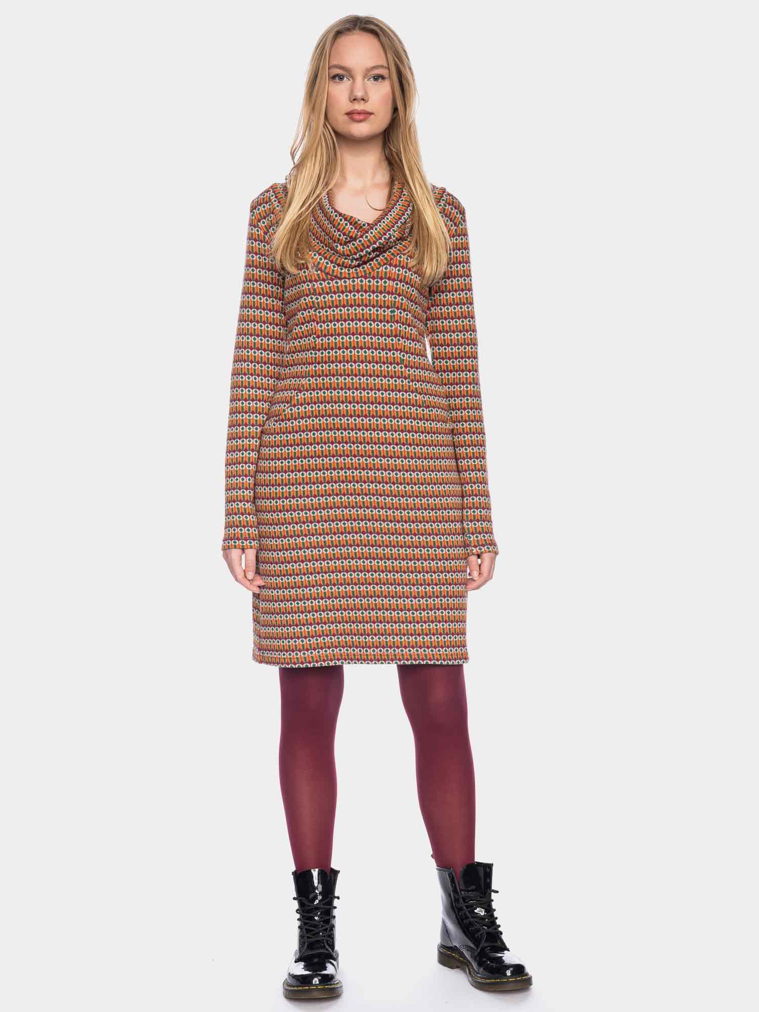 Halbmond - Warmes Kleid von ATO aus Bio Baumwolle in 2 ...