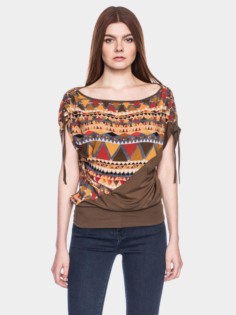 Shirt Mona CV 03/038 ORG/BL