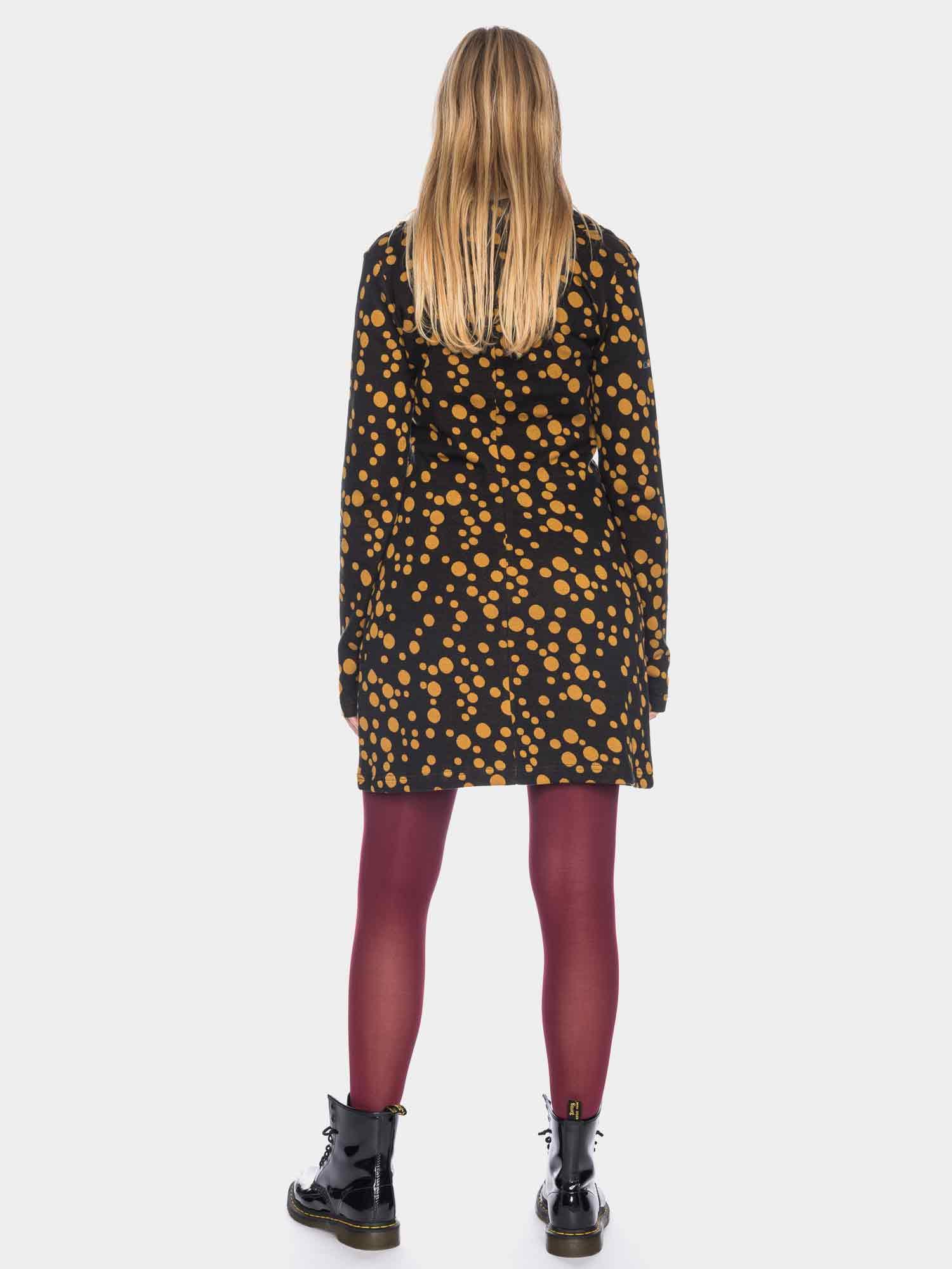 ATO Kleid aus Baumwollstrick mit Punkten, GOTS, Bio ...